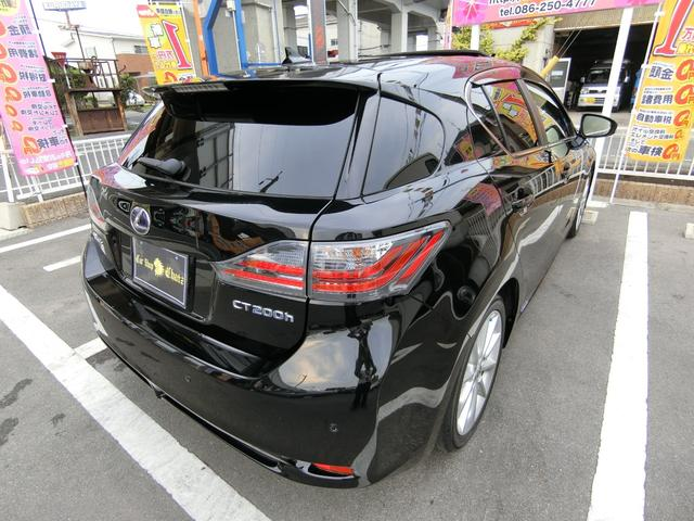 CT200h VerL Fリップスポ SR黒革HDD 純AW(7枚目)