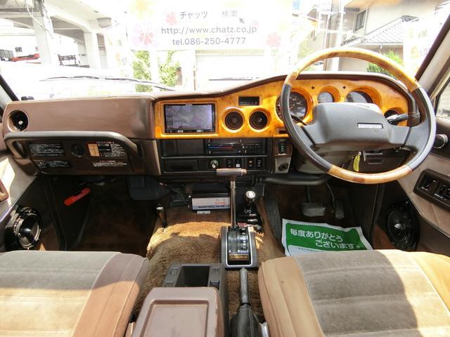 VX 1ナンバー Dターボ4WD 外16AWリフトUP ナビ(11枚目)