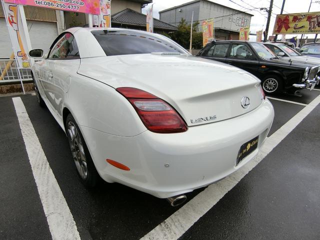 SC430 赤本革 ナビTV HID 純AW マークレビ(7枚目)