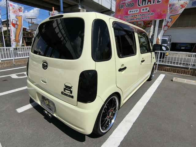 ココアL 16AW車高調 外マフラー革調席テール改アイライン(7枚目)