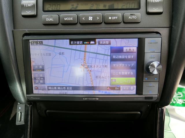 S300ベルテックスED エアロ外AWグリル車高調黒革HDD(15枚目)