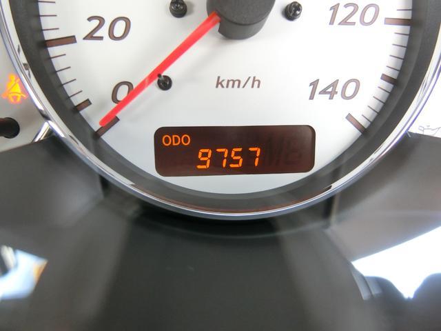実走行1.0万kmです!嬉しいですね♪オークションで証明されています!