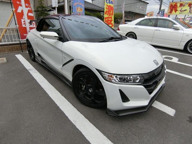 「ホンダ」「S660」「オープンカー」「岡山県」の中古車4