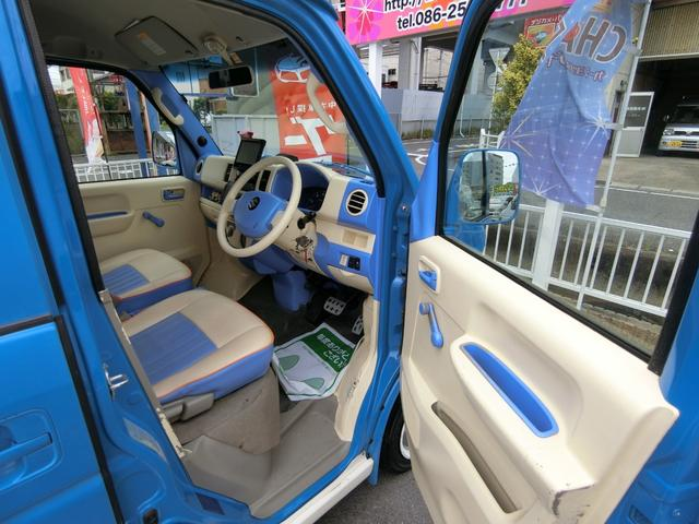 PA エアロ バス仕様 4WD 内装替 革調席 HDDナビ(12枚目)