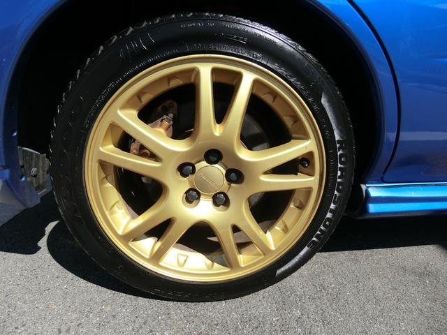 WRX STi 6MT ターボ 4WD エアロ 純正17AW ローダウン HID キーレス CD 盗難防止 記録簿H23からH31 ETC タイミングベルト交換済(19枚目)