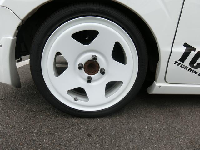 PC CLSデモカー フルアエロ TC0115AW 車高調 マフラーカッター テールカバー ハイマウントカバー Rウィング 両側スライド 革調シート キーレス CD タイミングチェーン式(19枚目)
