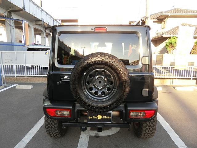 JL 5MT 4WD ジーアイギガ FUEL特注16AW ホワイトレタータイヤ リフトアップキット 背面タイヤ カスタムグリル ヒッチメンバー 革調シート DVD ウーハー シートヒーター セーフティSP(8枚目)