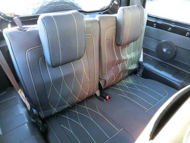 JL 5MT 4WD ジーアイギガ FUEL特注16AW ホワイトレタータイヤ リフトアップキット 背面タイヤ カスタムグリル ヒッチメンバー 革調シート DVD ウーハー シートヒーター セーフティSP(10枚目)