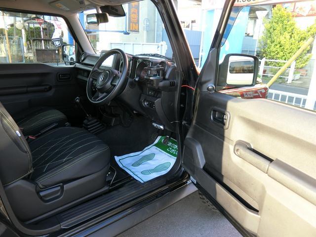 JL 5MT 4WD ジーアイギガ FUEL特注16AW ホワイトレタータイヤ リフトアップキット 背面タイヤ カスタムグリル ヒッチメンバー 革調シート DVD ウーハー シートヒーター セーフティSP(13枚目)