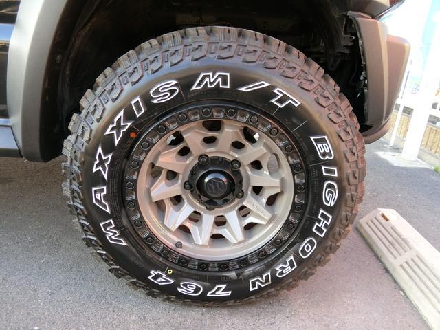 JL 5MT 4WD ジーアイギガ FUEL特注16AW ホワイトレタータイヤ リフトアップキット 背面タイヤ カスタムグリル ヒッチメンバー 革調シート DVD ウーハー シートヒーター セーフティSP(19枚目)