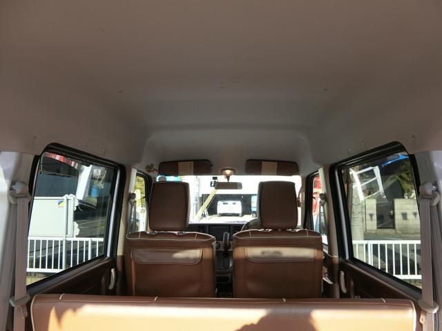 PAターボ ターボ WB仕様 エアロ 内装ペイント 外品12AW 革調シートカバー メモリーナビ フルセグTV バックカメラ ドライブレコーダー 両側スライドドア パワステ エアコン 全塗装(10枚目)
