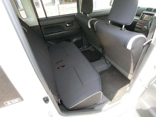 カスタム RS ターボ 4WD メモリーナビTV バックカメラ CD DVD再生 純正15AW HID スマートキー ベンチシート ETC コラムオートマ ベンチシート 車庫保管 半年毎ディーラー整備(10枚目)