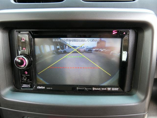 カスタム RS ターボ 4WD メモリーナビTV バックカメラ CD DVD再生 純正15AW HID スマートキー ベンチシート ETC コラムオートマ ベンチシート 車庫保管 半年毎ディーラー整備(15枚目)