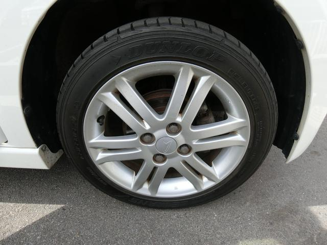 カスタム RS ターボ 4WD メモリーナビTV バックカメラ CD DVD再生 純正15AW HID スマートキー ベンチシート ETC コラムオートマ ベンチシート 車庫保管 半年毎ディーラー整備(19枚目)