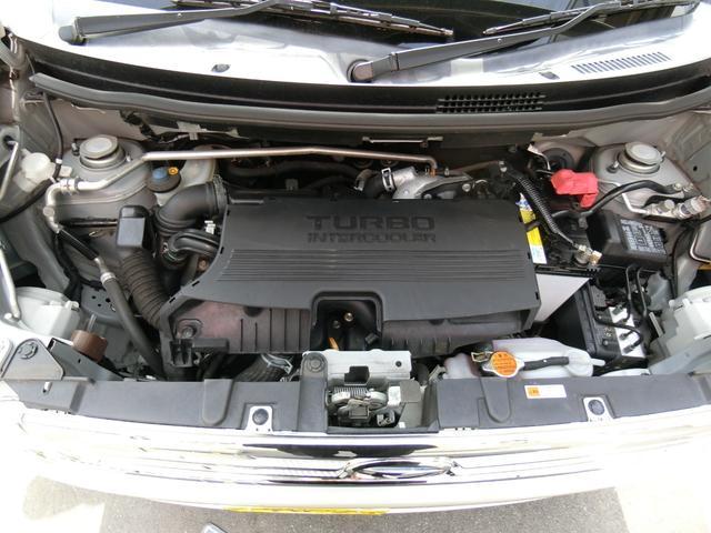 カスタム RS ターボ 4WD メモリーナビTV バックカメラ CD DVD再生 純正15AW HID スマートキー ベンチシート ETC コラムオートマ ベンチシート 車庫保管 半年毎ディーラー整備(20枚目)