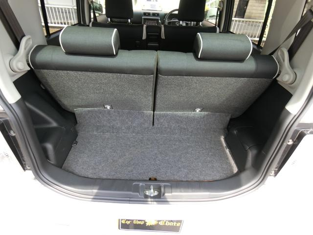 カスタム RS ターボ 4WD メモリーナビTV バックカメラ CD DVD再生 純正15AW HID スマートキー ベンチシート ETC コラムオートマ ベンチシート 車庫保管 半年毎ディーラー整備(22枚目)
