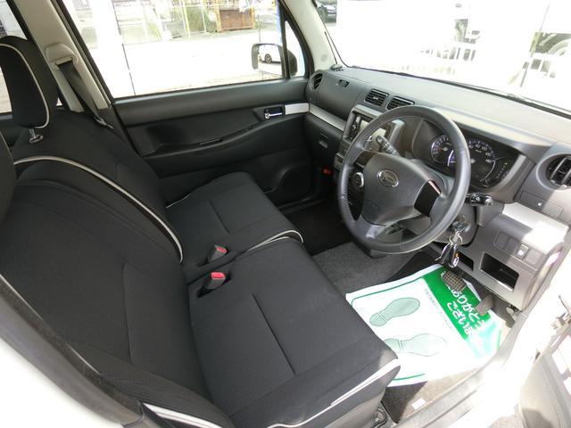 カスタム RS ターボ 4WD メモリーナビTV バックカメラ CD DVD再生 純正15AW HID スマートキー ベンチシート ETC コラムオートマ ベンチシート 車庫保管 半年毎ディーラー整備(23枚目)