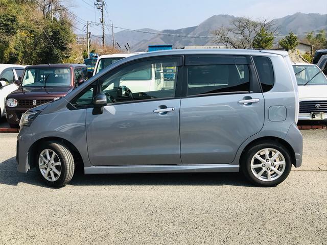 カスタムR スマートアシスト 軽自動車 シルバー(8枚目)