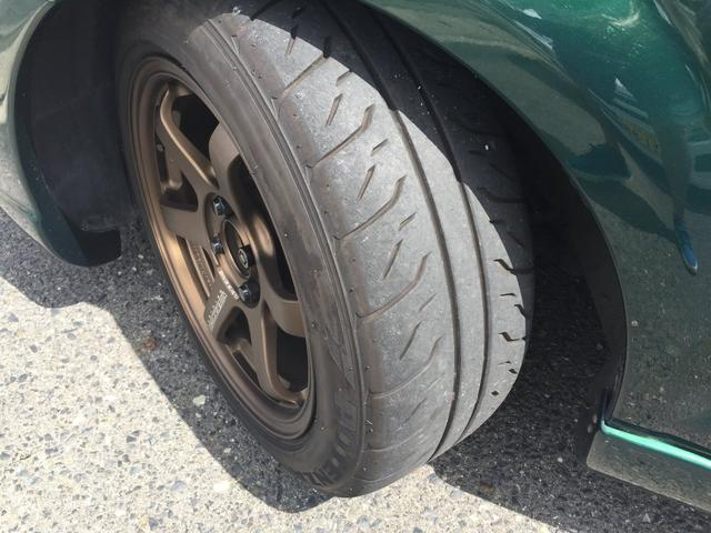 タイヤもBS製POTENZA RE71Rが装着されております♪