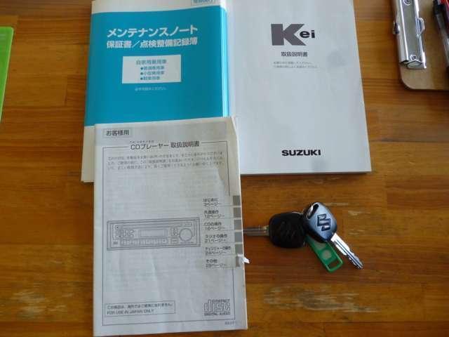 スズキ Kei A キーレス CD