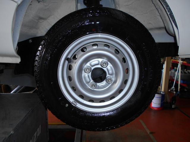タイヤ新しい!