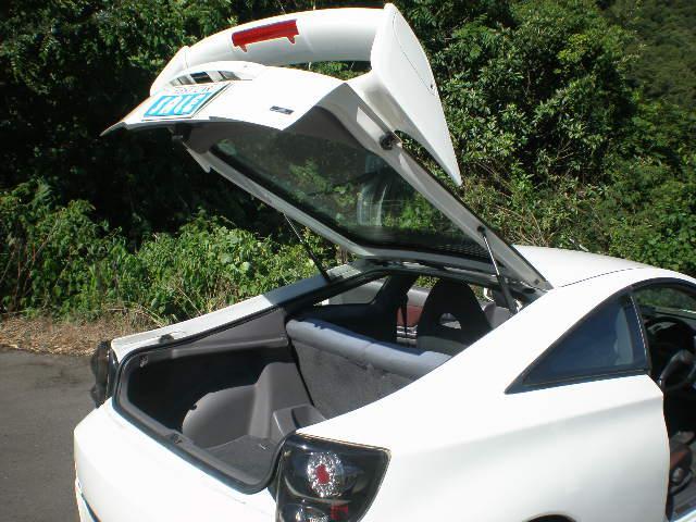 SS-II 6速MT BLITZ車高調 社外18インチAW EXASマフラー 社外エアロパーツ 社外テールランプ タッチパネルオーディオ タナベストラットタワーバー DVD再生 ETC付き(11枚目)
