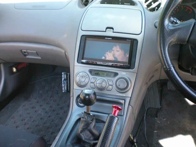 SS-II 6速MT BLITZ車高調 社外18インチAW EXASマフラー 社外エアロパーツ 社外テールランプ タッチパネルオーディオ タナベストラットタワーバー DVD再生 ETC付き(34枚目)