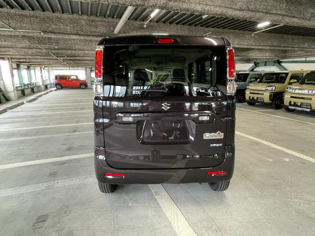 ハイブリッドG 届出済未使用車 両側スライドドア レーダーブレーキサポート リアパーキングアシスト アイドリングストップ オートエアコン プッシュスタート(4枚目)