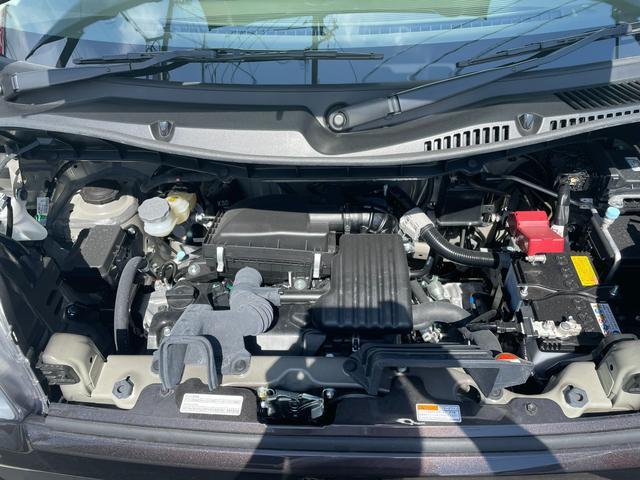 ハイブリッドG 届出済未使用車 両側スライドドア レーダーブレーキサポート リアパーキングアシスト アイドリングストップ オートエアコン プッシュスタート(19枚目)
