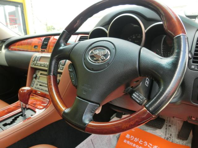430SCV 茶本革 電動オープン シートヒーター(16枚目)