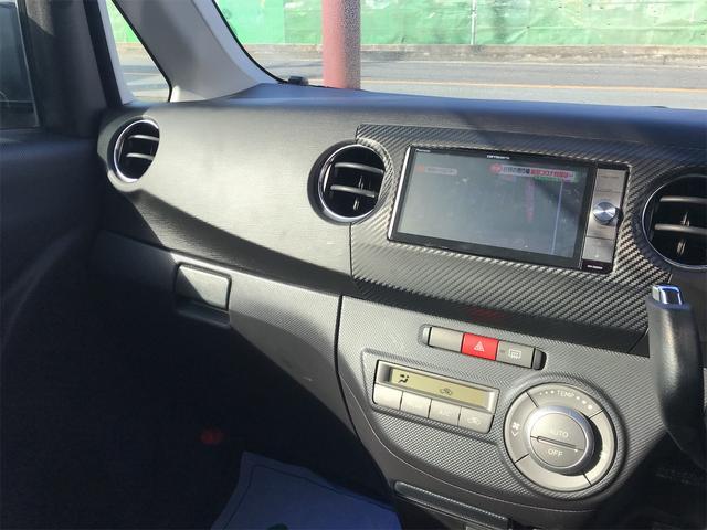 カスタムG エコアイドル 盗難防止システム ABS スマートキー ETC オートエアコン 電格ミラー ナビ(3枚目)