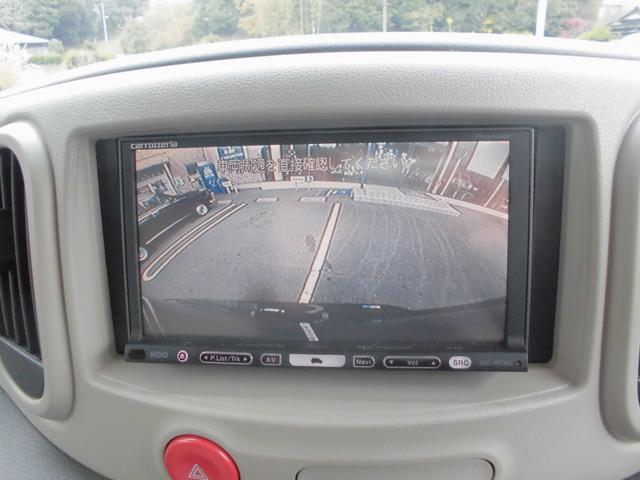 バックカメラ搭載車ですのでバック駐車も安心&安全に。