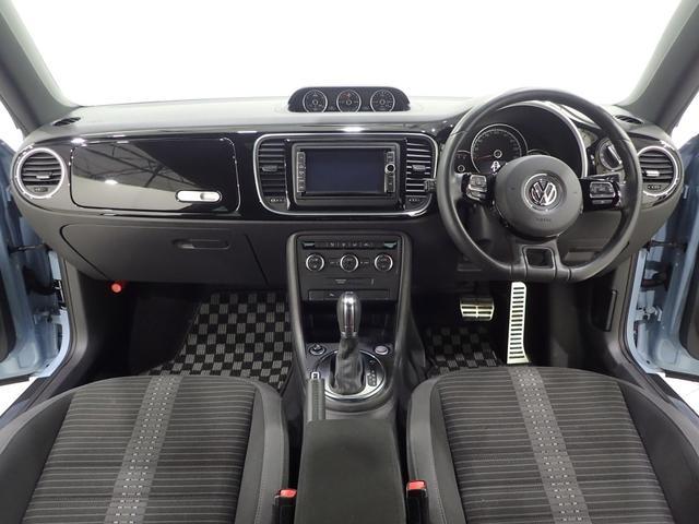 フォルクスワーゲン VW ザ・ビートル ターボ 純正 ナビ DVD フルセグTV ETC HID