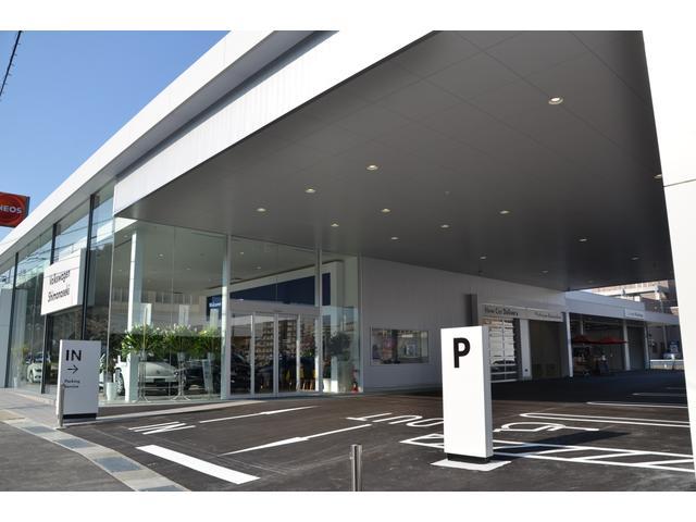 大きく、美しく、明るく!本州最西端のフォルクスワーゲン正規ディーラーに相応しい新店舗です。