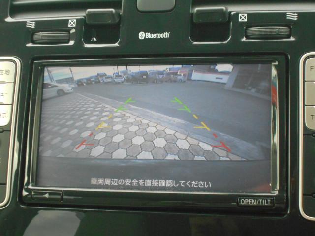 後方視界は室内のモニタ-で確認できます!バックカメラ映像