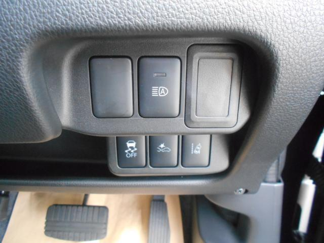 様々なスイッチは ひとまとめに。