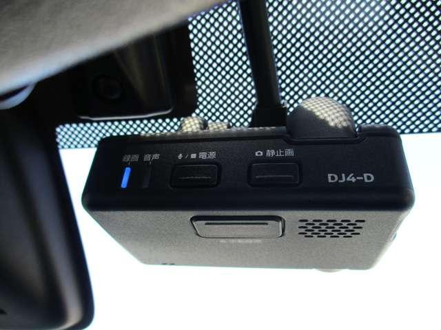 今では必須アイテムの一つ。ドライブレコーダー付いています。