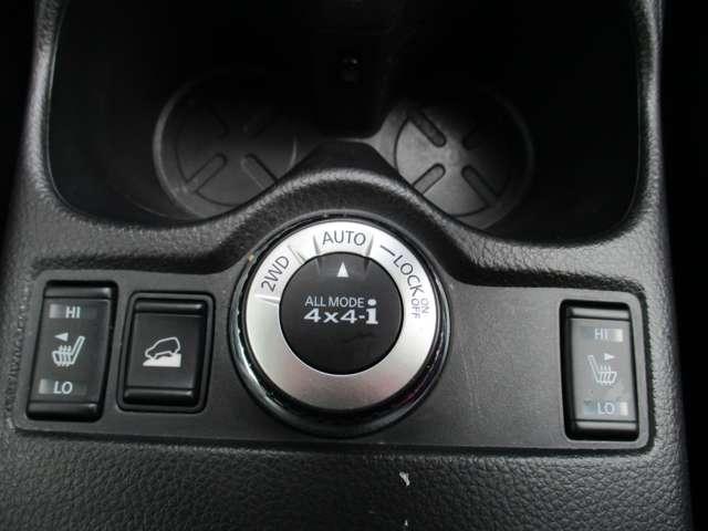 シートヒーターの調整や、オートモード等の切り替えが出来ます。