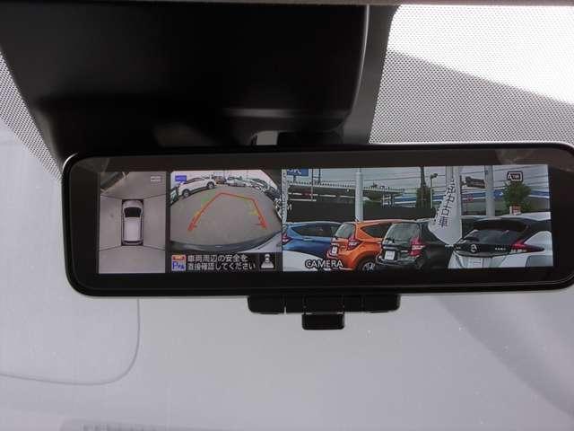 X Vセレクション 踏み間違い衝突防止アシスト 車線逸脱警報 横滑り防止装置 スマートルームミラー オートマチックハイビーム ナビ ドラレコ 安全、安心ニッサン ノートです(12枚目)