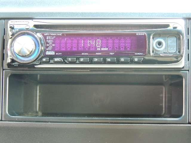 ☆CDチューナーがついています。カーナビやドライブレコーダーなどの購入相談もお気軽にどうぞ。