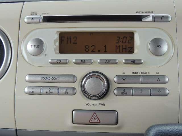 ☆純正のCD&ラジオステレオ付いてます。