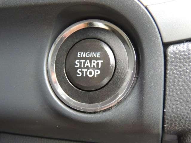 ☆便利なプッシュ式エンジンスタート。ボタンを押すだけでエンジンがかかります。