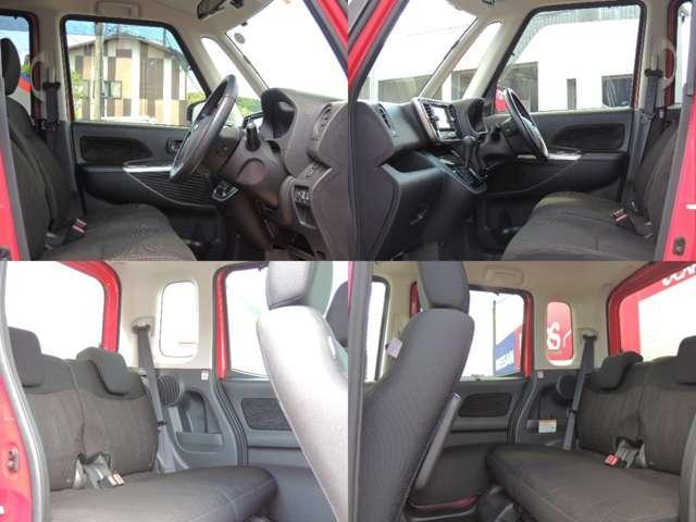 ☆後席も軽自動車とは思えない十分な広さと快適性を持っています。