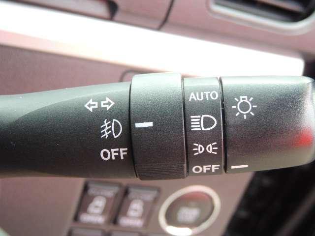 ☆もちろんオートライトとフォグランプも標準装備です。