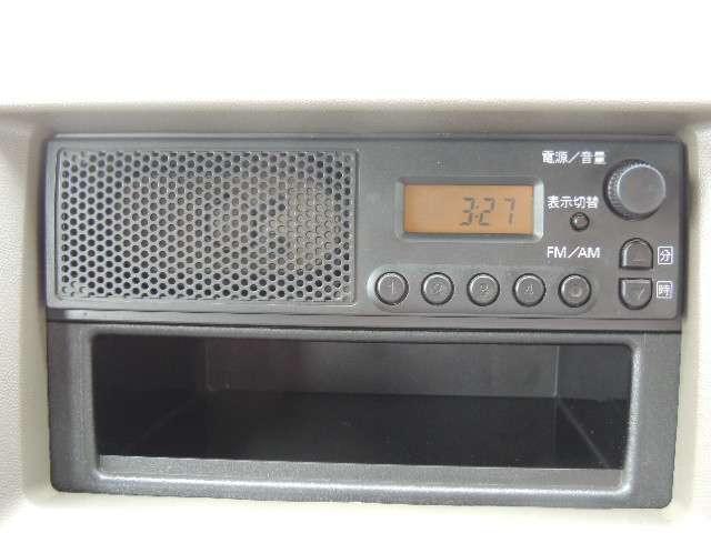 ☆ラジオが付いております。