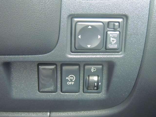 ☆自動格納付ドアミラーがついています。エコドライブにもってこいのアイドリングストップもついています。エコ運転をして燃費を稼ぎましょう。