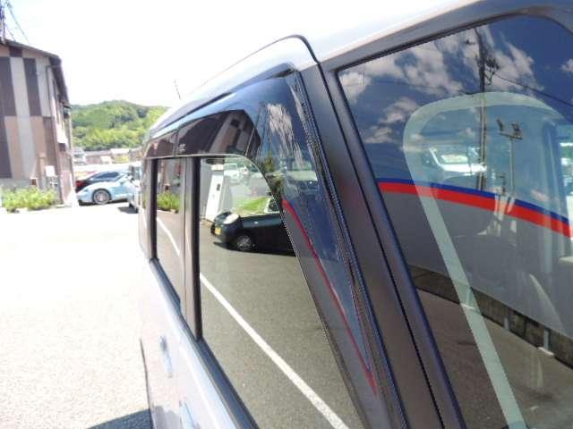 ☆こちらのお車にはプラスティックバイザー付いております。