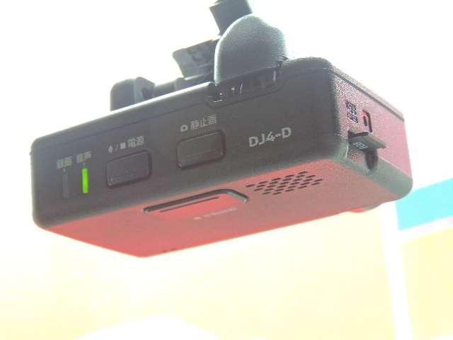 ☆ドライブレコーダーは、いまや必需品になっています。こちらの車には付いております。