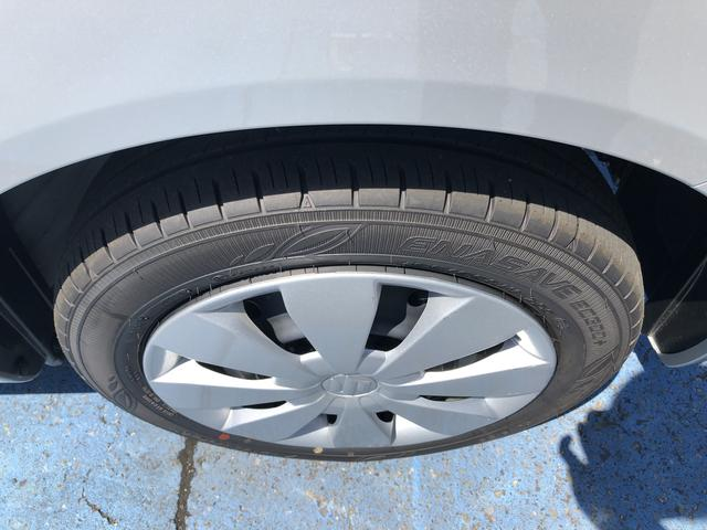 前タイヤ残り溝たっぷりあります。