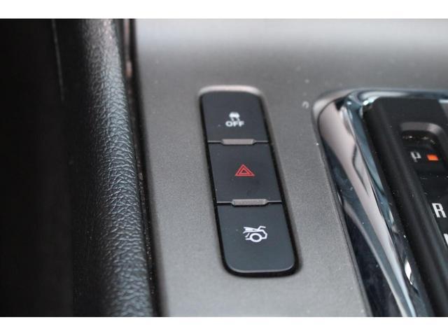 トラクションコントロール、トランクオープナースイッチ。